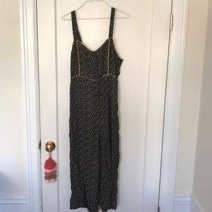 Madewell floral jumpsuit size 12